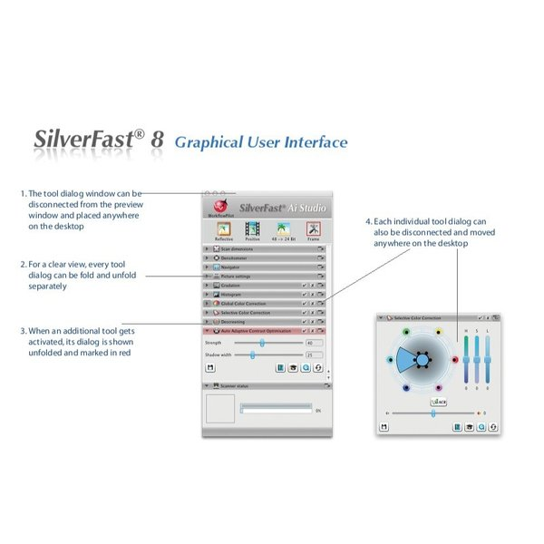 Plustek用SilverFast SE 写真・画像の管理編集ソフト ネガフィルムスキャン 自動IT8校正適応  埃キズ除去処理 自動フレーム機能|dipah-shop|11