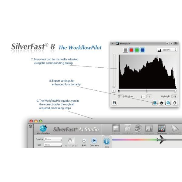 Plustek用SilverFast SE 写真・画像の管理編集ソフト ネガフィルムスキャン 自動IT8校正適応  埃キズ除去処理 自動フレーム機能|dipah-shop|04