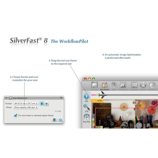 Plustek用SilverFast SE 写真・画像の管理編集ソフト ネガフィルムスキャン 自動IT8校正適応  埃キズ除去処理 自動フレーム機能|dipah-shop|05