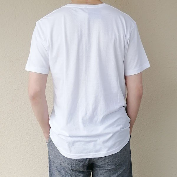 メンズ 半袖 Tシャツ 綿100% 天竺 V首 Vネック|direct-factory|03