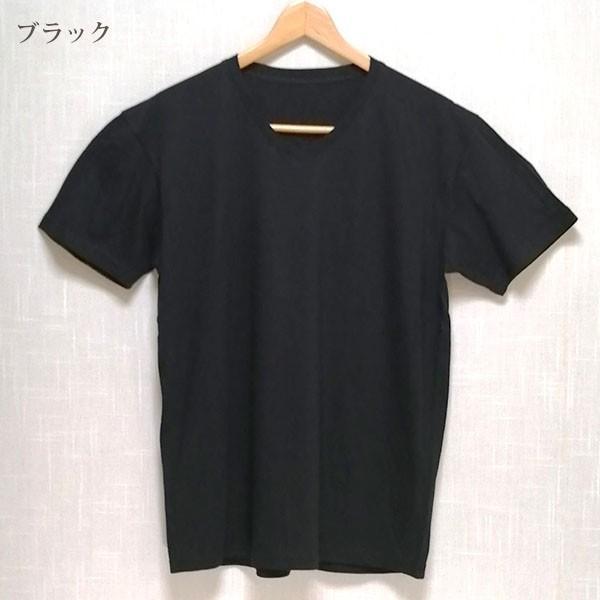 メンズ 半袖 Tシャツ 綿100% 天竺 V首 Vネック|direct-factory|11