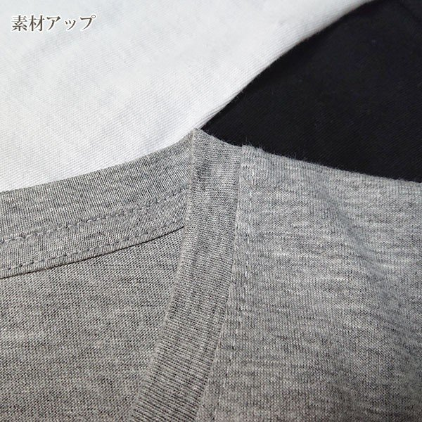 メンズ 半袖 Tシャツ 綿100% 天竺 V首 Vネック|direct-factory|04