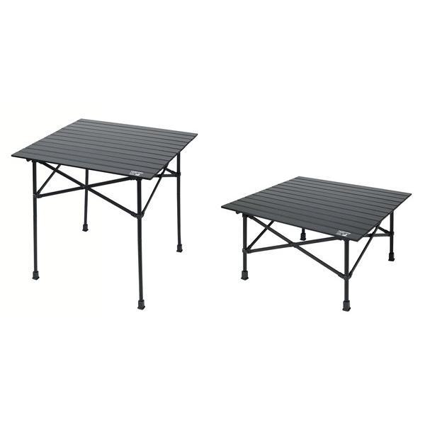 アウトドア テーブル キャプテンスタッグ CSブラックラベル アルミツーウェイロールテーブル 70 UC-534 ハイテーブル ローテーブル 2WAY CAPTAIN STAG|discount-spirits2|04