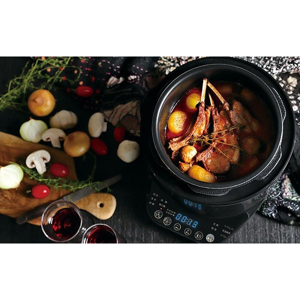 圧力鍋 電気 使いやすい 電気圧力鍋 人気 おすすめ 2l フライパン 鍋 圧力 レシピ 温度 蒸し ご飯 玄米 おかゆ 自動圧力 圧力調理|discount-spirits2|09