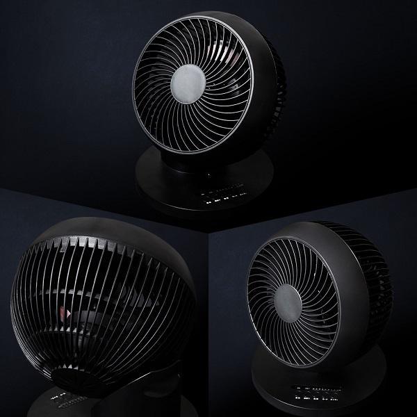 サーキュレーター 首振り 360° ACモーター 省エネ おしゃれ リモコン コンパクト タイマー 扇風機 送風機 節電 ホワイト CF-AC40