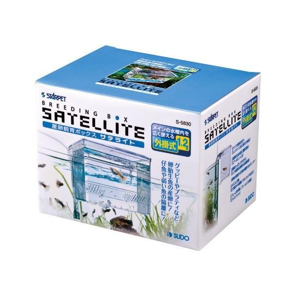 スドーサテライト外掛式産卵飼育ボックス隔離箱水槽用