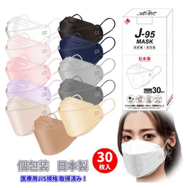 JN95信頼の日本製不織布マスク医療用クラスの性能3D立体構造N95マスク同等4層構造話しやすいメイクがつきにくい息がしやすい小