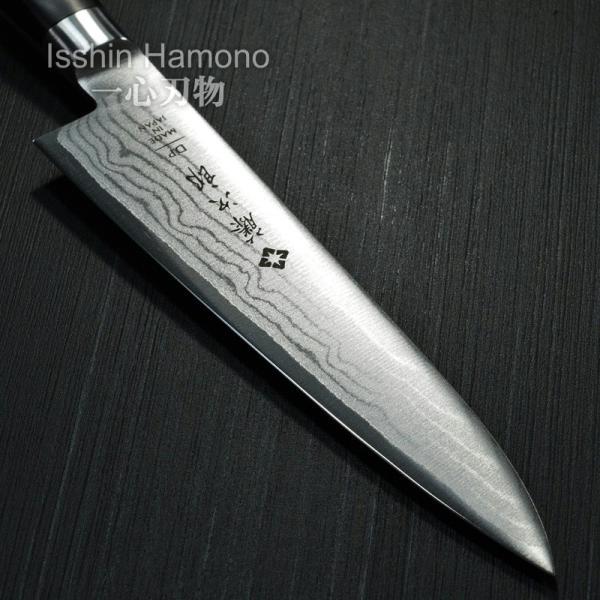 包丁 ペティナイフ 120mm 藤次郎 V金10号 37層ダマスカス鋼 口金付 霞流し 日本製|discovery-shop|06