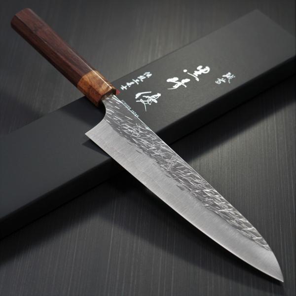 包丁 牛刀 210mm 黒崎優 コバルトスペシャル 鍛造 越前打刃物 日本製|discovery-shop