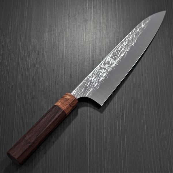 包丁 牛刀 210mm 黒崎優 コバルトスペシャル 鍛造 越前打刃物 日本製|discovery-shop|02