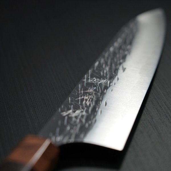 包丁 牛刀 210mm 黒崎優 コバルトスペシャル 鍛造 越前打刃物 日本製|discovery-shop|04