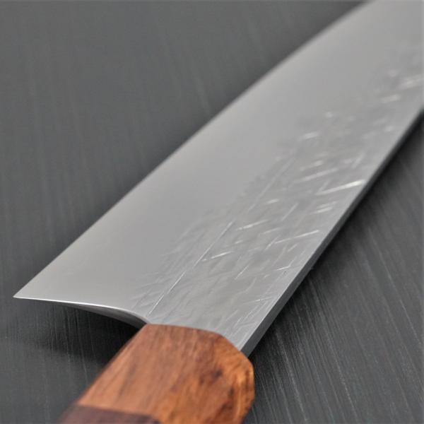 包丁 牛刀 210mm 黒崎優 コバルトスペシャル 鍛造 越前打刃物 日本製|discovery-shop|06