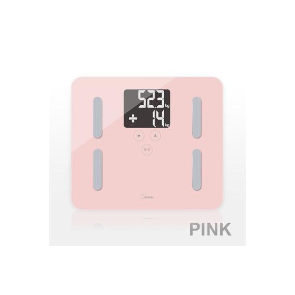 体重計 体脂肪率 スケール バックライト プレゼント 体重体組成計 自動  健康管理 計測 内臓脂肪 安い 正確 ドリテック|dish|09