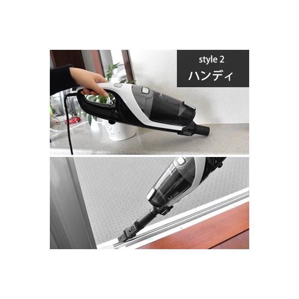 掃除機 サイクロン スティッククリーナー サイクロン掃除機 クリーナー スティック ハンディ おしゃれ  軽い パワフル|dish|06