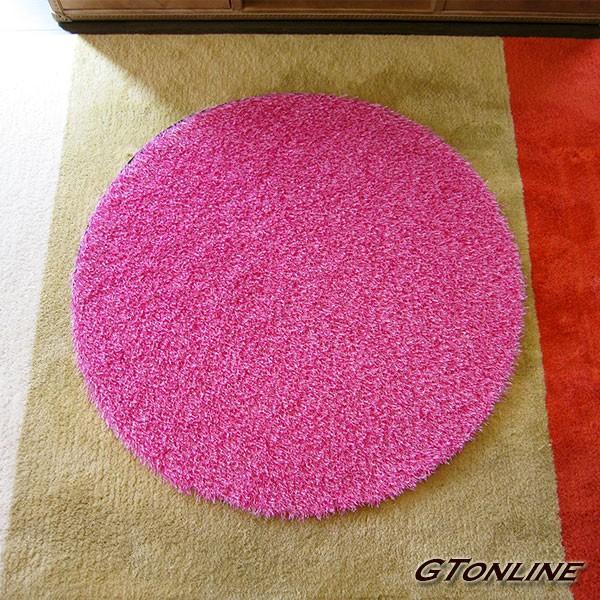 人工芝 カラフル芝生マット 円形 直径50cm(500mm)ピンク ホワイト ブラック グレー ラテ チョコ パープル ブルー 人やペットに無害な人工芝 定形外送料無料