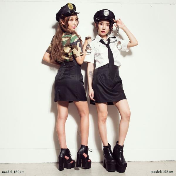 ポリス 警察 コスプレ  レディースcostume【コスチューム】 ポリスセット/全1色(BL)|dita|04