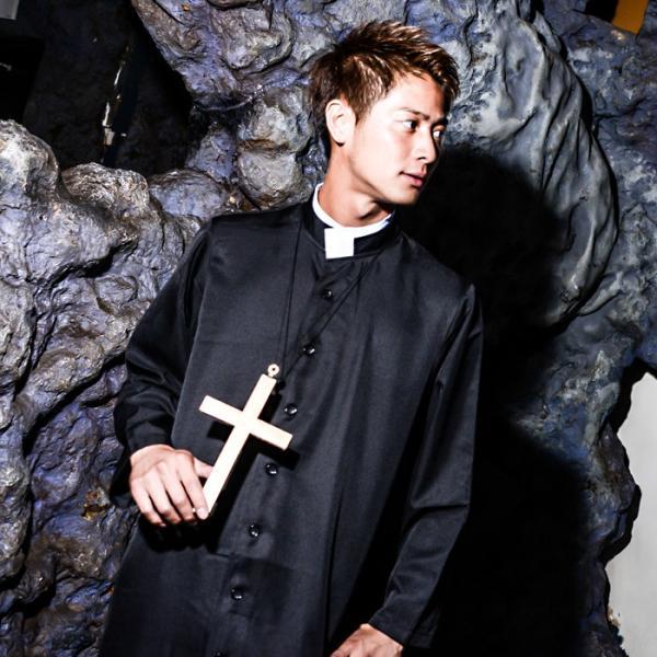 神父 コスプレ 牧師 レディースcostume【コスチューム】 神父 ...