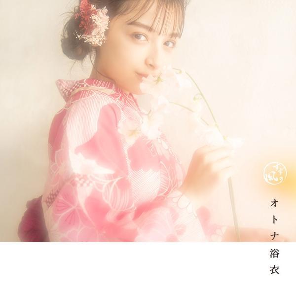 浴衣 新作 2018 京都本格 女性浴衣4点フルセット(ゆかた 作り帯 下駄 着付マニュアル本) 初心者もOK 一人で簡単に着られるつくり帯|dita|10