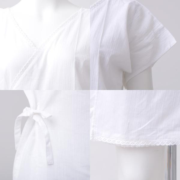 浴衣 下着 肌着 着付けセット 浴衣 クレープ生地インナーワンピース レディース|dita|03