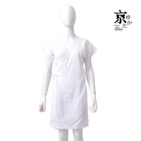 浴衣 下着 肌着 着付けセット 浴衣 クレープ生地インナーワンピース レディース|dita|05