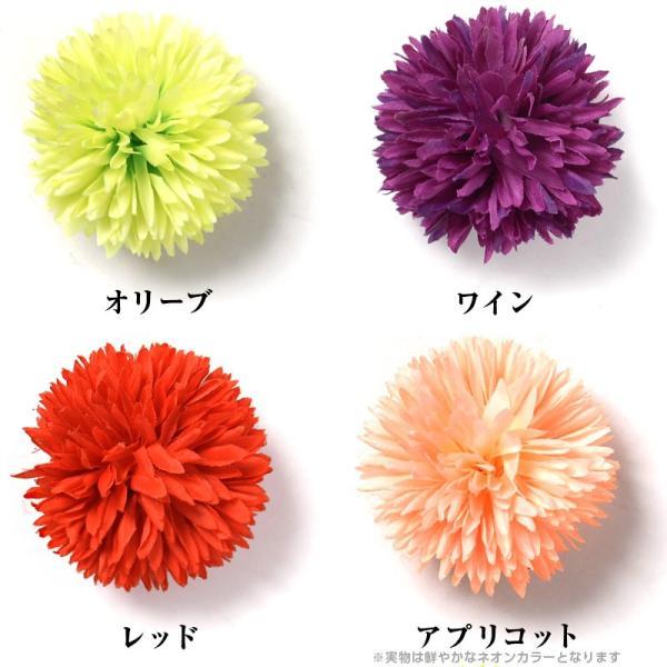 髪飾り ゆかた姿を引き立てる選べる15色 ピンポンマム  髪飾り かんざし コサージュ かみかざり|dita|04