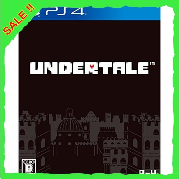 UNDERTALE - PS4 (【永久封入特典】ストーリーブックレット 同梱)|diva0210