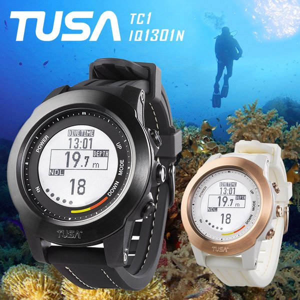 ダイブコンピューター TUSA ツサ バッテリー 充電式 TC1 IQ1301N ダイビングコンピューター バッテリー交換 不要