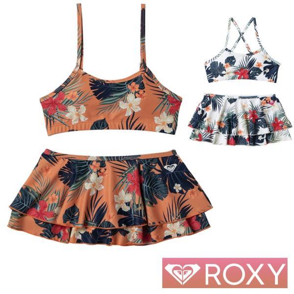 ROXY ロキシー キッズ 水着 女の子 セパレート 子供水着 2点セット 子供 MINI BOTANICAL BLESSING TSW201101