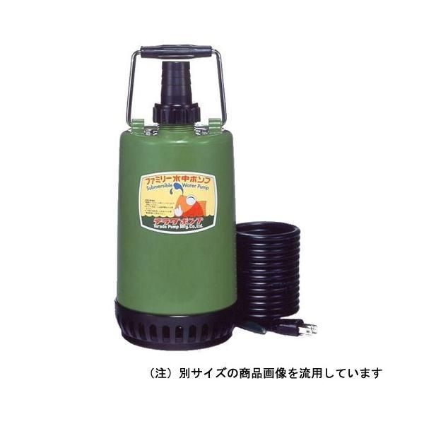 水中ポンプ 100V 小型 家庭用の水中ポンプ  50HZ (小型・軽量、連続運転が可能)