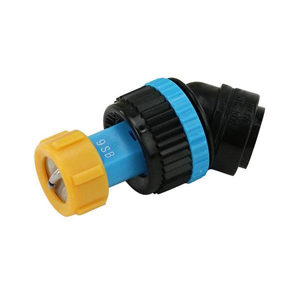 (噴霧器 部品) 1頭口ノズル N-KAL-9SB 噴霧器 除草ラウンドアップ用/手動用