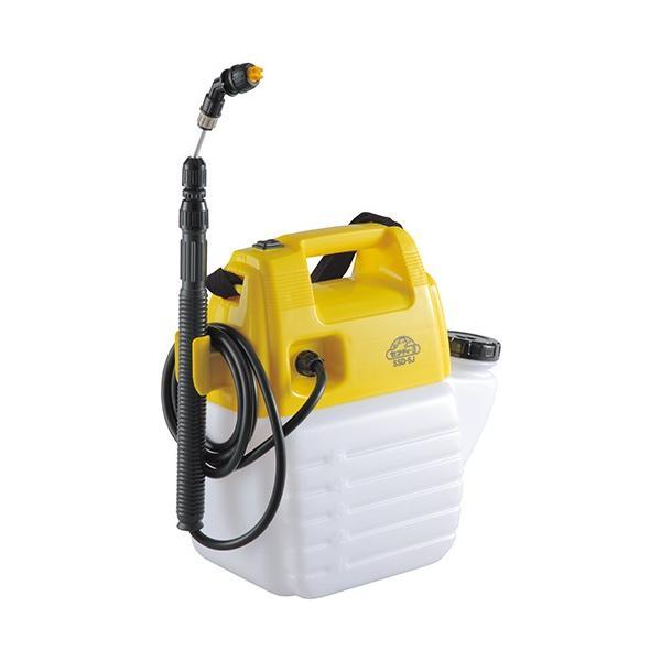 噴霧器 除草剤散布機 ガーデンスプレー   タンク5L 310x360x175mm (除草剤用/電池式)[電動噴霧器 ガーデンスプレー]