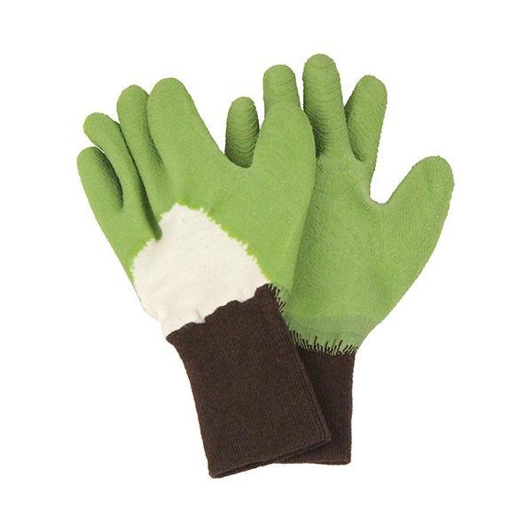 ガーデニンググローブ 農作業用手袋 トゲがささりにくい 手袋 グリーン Sサイズ