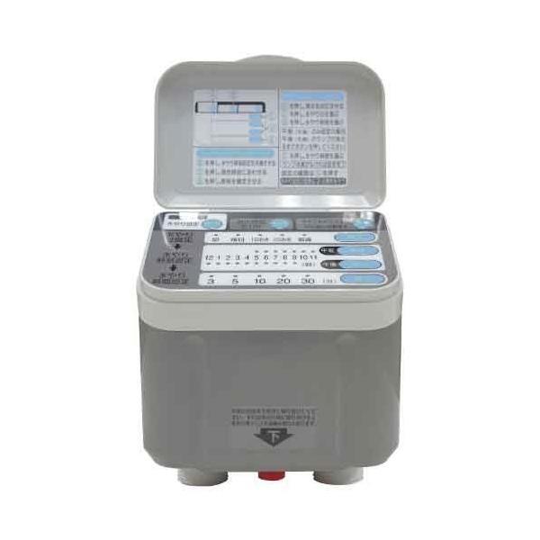 (自動散水タイマー) 乾電池式 ホース内径13〜15mm (水やり/芝生/鉢植え/畑/プランター/花壇)