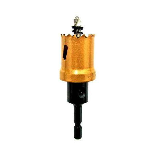 電動ドライバー ドリル用ドリルビット(ウイニングボアー)バイメタルカッター bc-27 diy-tatsu