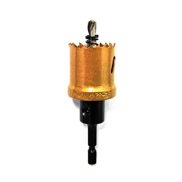 電動ドライバー ドリル用ドリルビット(ウイニングボアー)バイメタルカッター bc-32|diy-tatsu