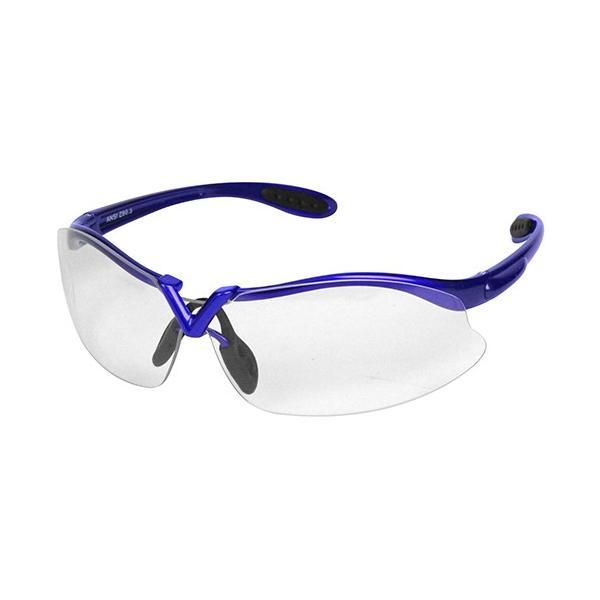 サングラス/ガーデングラス 園芸 農作業 ガーデニング UVカット おしゃれ 青色 レンズカラー:クリア