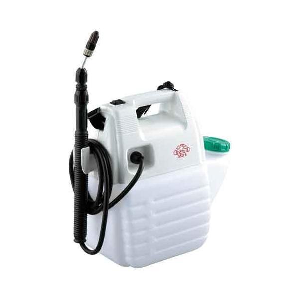 噴霧器 5L 電池式 肩掛型 伸縮ノズル (園芸/消毒剤/殺虫/除草剤)[噴霧機 ガーデニング]