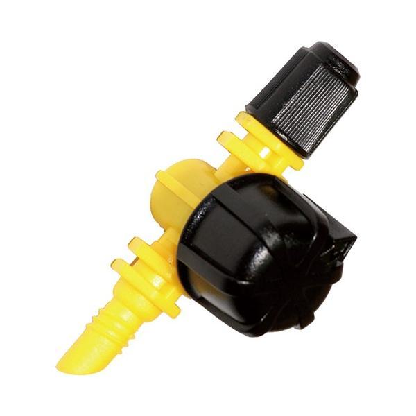 マイクロ灌水システム用 マイクロ灌水ノズル ミスト 3個入 (ミスト状に散水するノズル) 散水用品 散水パーツ