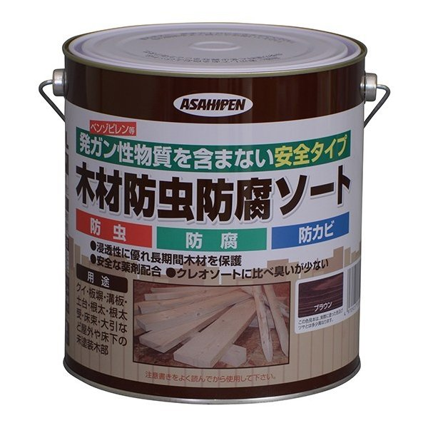 木材防虫防腐ソート 2.5L