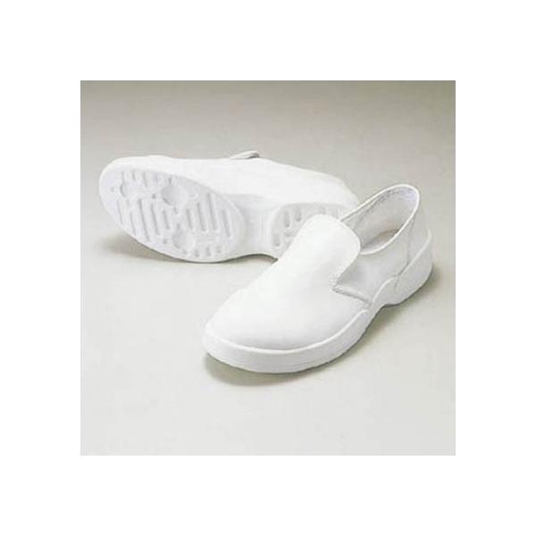 アズワン ゴールドウイン静電安全靴クリーンシューズホワイト23.0cm 406 x 284 x 114 mm PA9880-W-23.0
