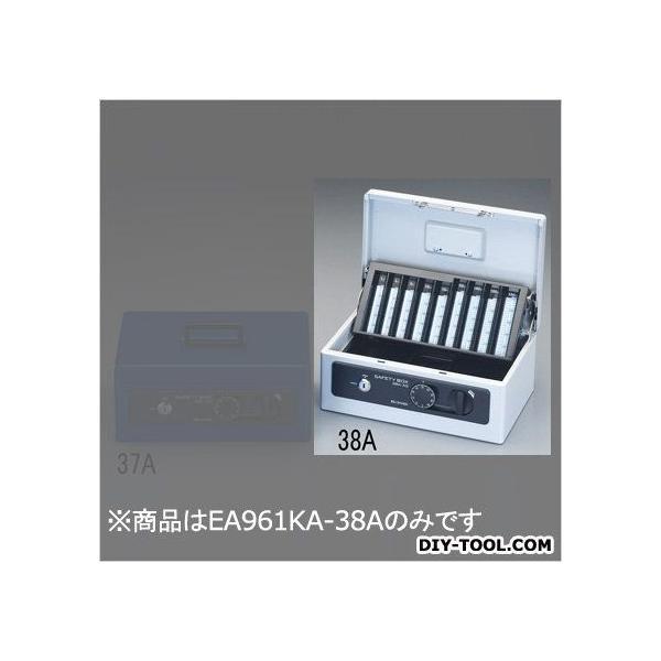 エスコ(esco) 手提げ金庫 グレー 275x185x120mm EA961KA-38A