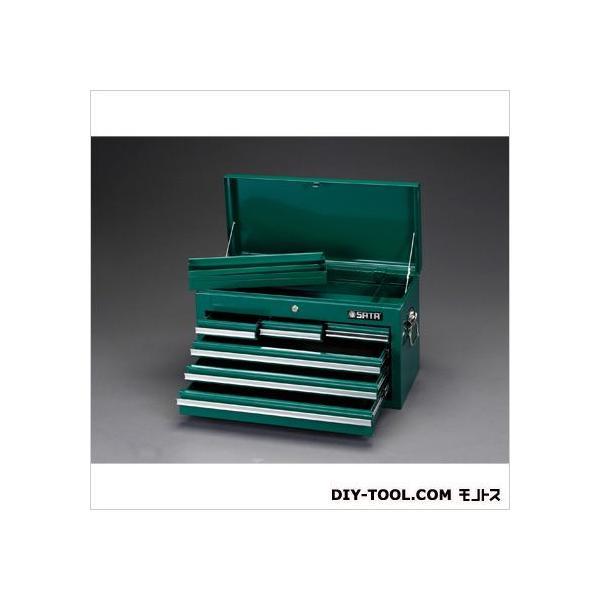 エスコ(esco) 660x305x380mmツールチェスト 660(W)×305(D)×380(H)mm EA683ZD-2