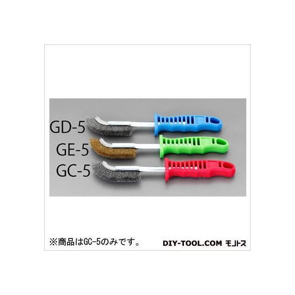 エスコ(esco) 225mmワイヤーブラシ(ステンレス製/グリップ付) EA109GC-5