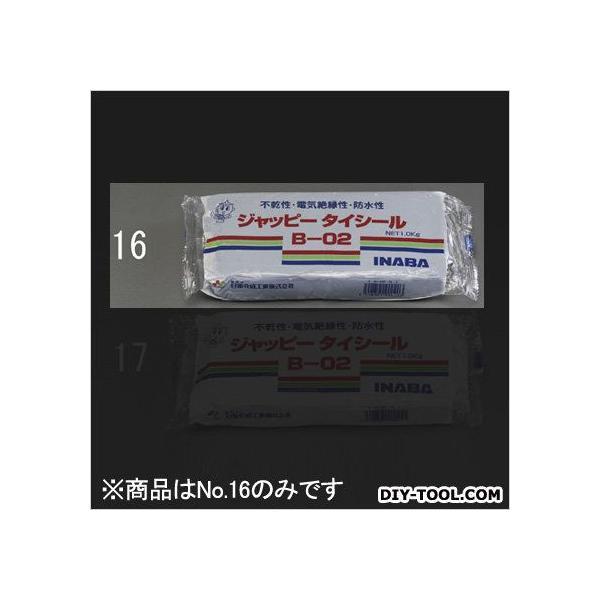 エスコ(esco) 不乾性パテ グレー 1000g EA934KD-16