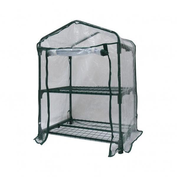 グリーンライフ ビニール温室2段 W69×D49×H92cm BO-001H 1個