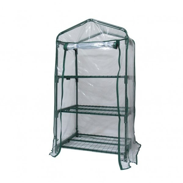 グリーンライフ ビニール温室3段 W69×D49×H125cm BO-002H 1個