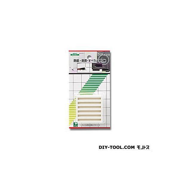 光 防振ゴム 白 50角×10mm厚 WG00-503