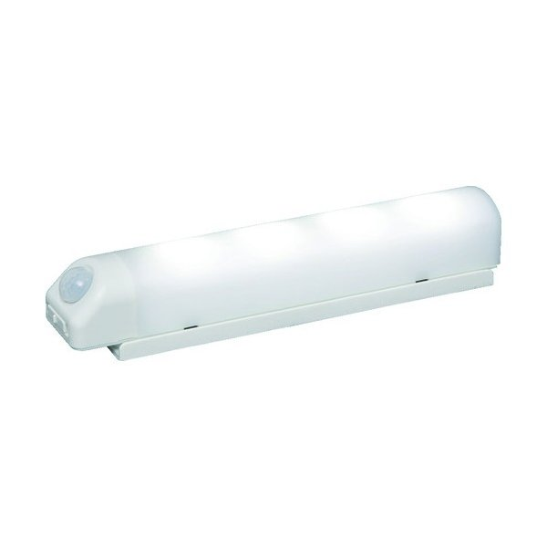 IRIS 乾電池式LED屋内センサーライトホワイトウォールタイプ昼白色 125 x 270 x 50 mm BSL40WN-W