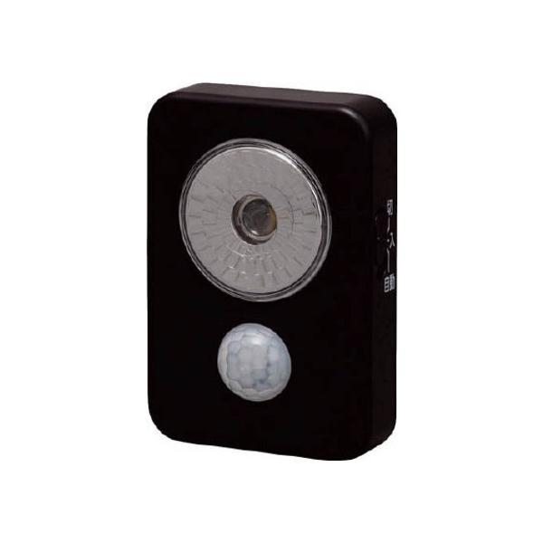 IRIS 乾電池式LED屋内センサーライトハンディタイプ 38 x 140 x 182 mm ISL3HN-B 1