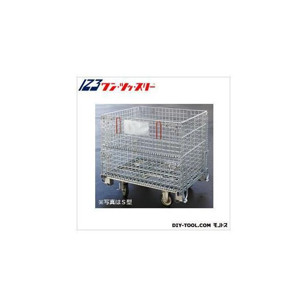 伊藤製作所 吊り上げ式かご型パレットキャスター付L型 PM-LPC 1台